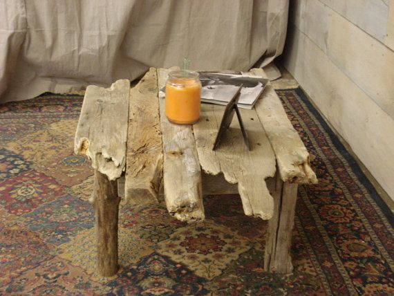 25 Driftwood coffee table Pinterest