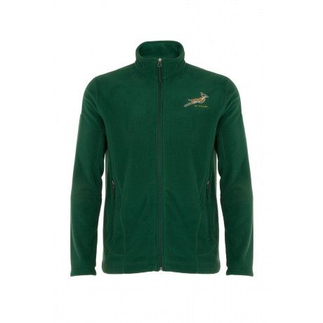 The Springbok Valiant is a full-zip medium-weight fleece made from polyester microfibre with a double-sided anti-pill finish. A durable water repellency-coating keeps you dry in wet weather; an adjustable hem helps prevent cold air from entering under the jacket; and four-needle flatlock stitching reduces bulky seams for added comfort.