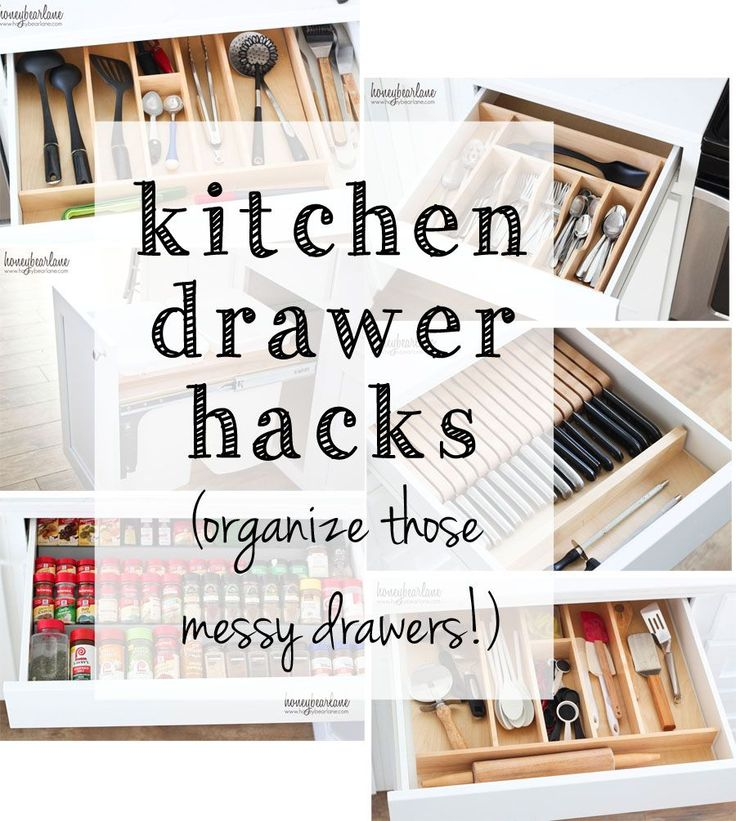 Hacks, Drawers And Cutlery