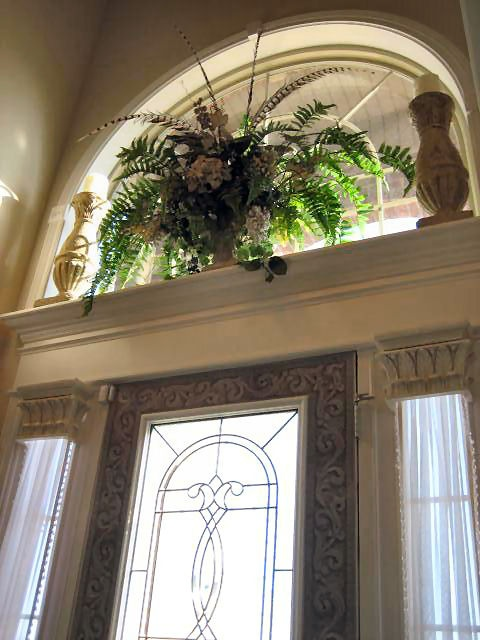 Two Story Foyer Ledge Decorating : Best niches images on pinterest entrance doors front