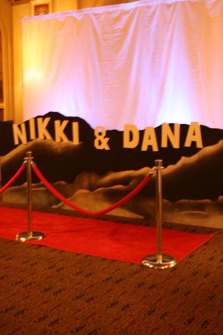 43 best Oscar Themed Gala images on Pinterest   Wedding tables ...
