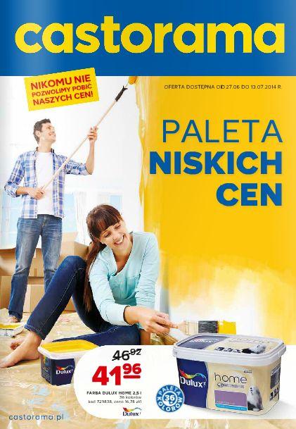 Remont? Tylko z Castoramą! http://www.promocyjni.pl/gazetki/17045-paleta-niskich-cen-gazetka-promocyjna