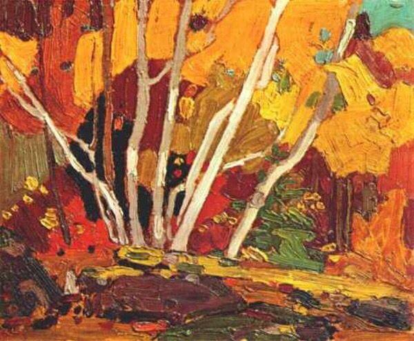 Autumn Birches - Tom Thomsen