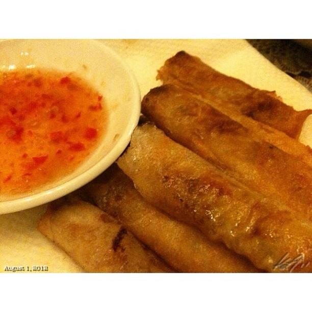 #春巻き を #shanghai と呼ぶ #フィリピン 理由は??? #dinner #food #philippines #晩ご飯