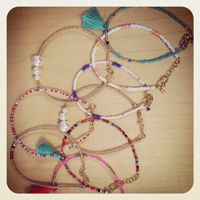 .@Helle Vestergaard Poulsen   Win one ANNI LU bracelet. You choose the bracelet. Just like this pic, follow...   Webstagram