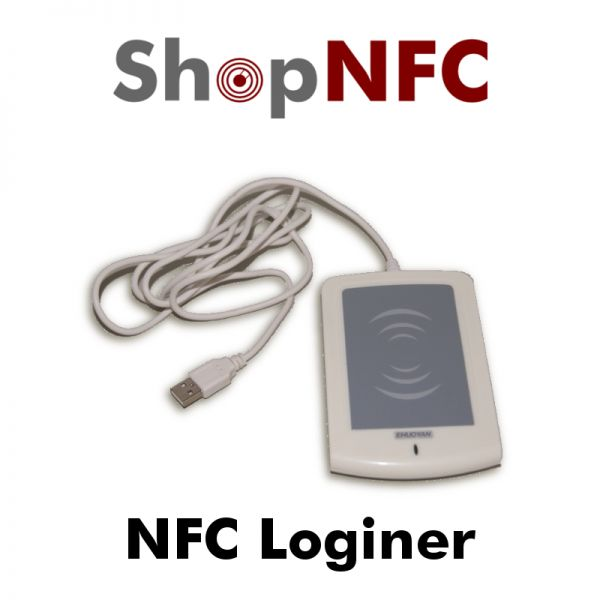 NFC Loginer with pad