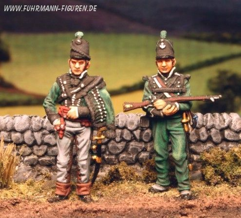 1/72nd scale 95th British Rifles Fotos: John Metters