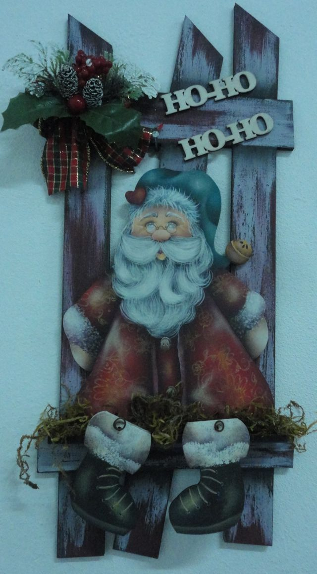 Enfeite de Porta Noel Ref: 2717