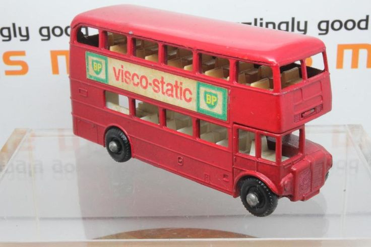 Matchbox Lesney No.5d London Routemaster Bus Visco-static labels FREE SHIPPING in Toys & Games, Diecast & Vehicles, Cars, Trucks & Vans | eBay!