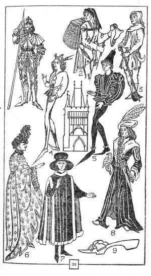 Средневековый костюм готический костюм