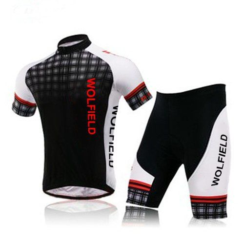 WOLFBIKE Mens Breathable Cycling Jersey 3D Padded Shorts Set Outfit - http://ridingjerseys.com/wolfbike-mens-breathable-cycling-jersey-3d-padded-shorts-set-outfit/