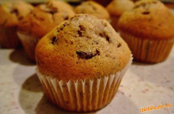 Muffiny s banánem, jahodami a čokoládou - vyzkoušené a skvělé