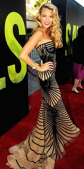 blake lively.. love her dress!