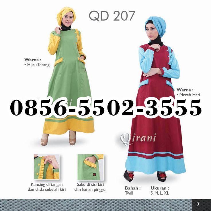 Gamis Qirani Sidoarjo, HP.0856-5502-3555,