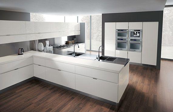 Italian Modern Design Kitchens - Elektra by Ernestomeda