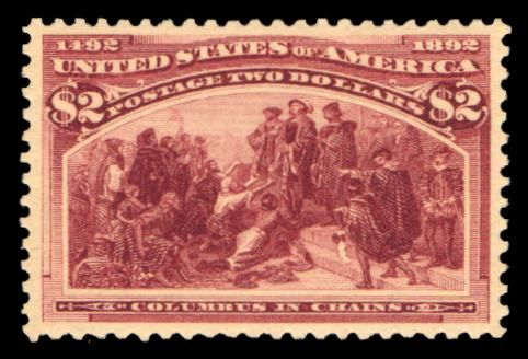 world's rarest stamps stamps | Columbus discovers two exceptional rare stamps in New York