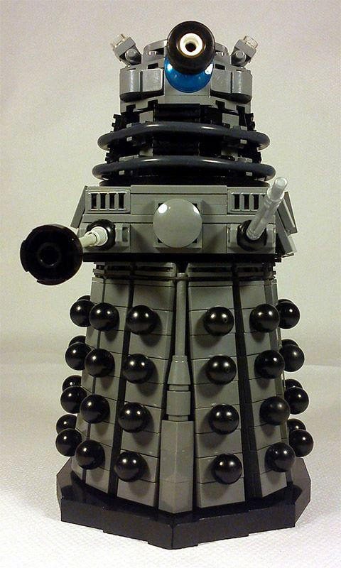 Classic Doctor Who Daleks Created In LEGO                                                                                                                                                      More