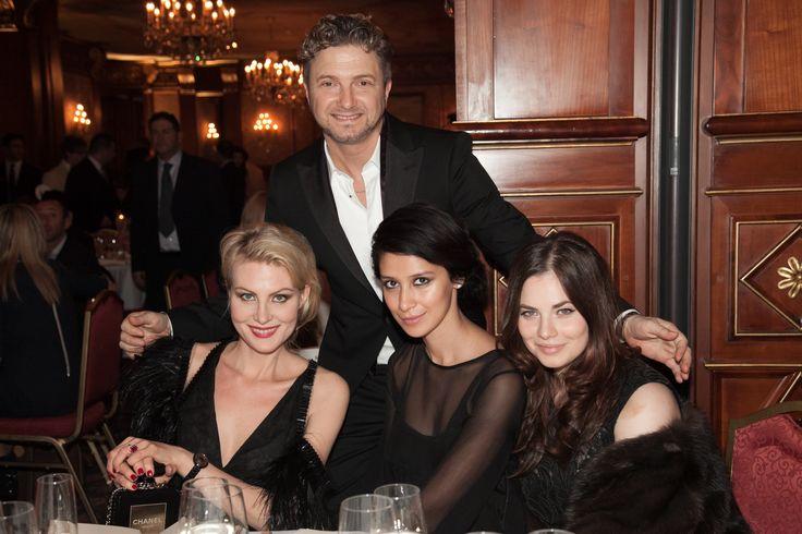 Sfilata del 5/3/2014 Maurizio Braschi con Renata Litvinova, Ravshana Kurkova, Yuliya Snigir #luxury #braschifur #fashion
