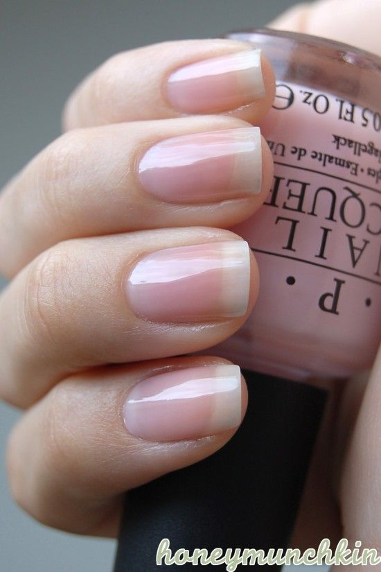 "OPI ""In The Spot-Light Pink"" - The Femme de Cirque ... Natural Pink Nail Polish"