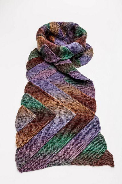 "Ravelry: Scottish Stripes pattern by Ursa Major Knits, designed in Mini Mochi color 352 ""Evening Shade"""