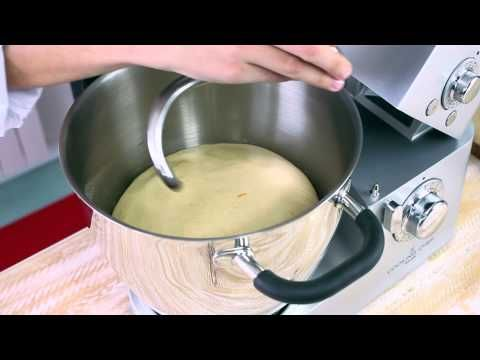 Receta para elaborar un roscón con Cooking Chef de Kenwood - YouTube