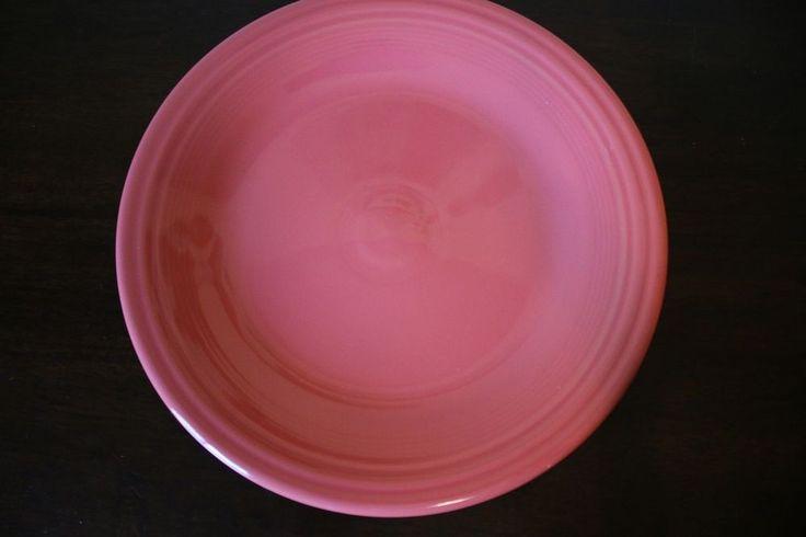 Fiesta Dinnerware Homer Laughlin Flamingo Pink Dinner Plate Replacement NEW #Fiesta
