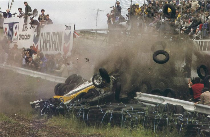 Ren 233 Arnoux Elf Renault Re30b 1982 Dutch Grand Prix