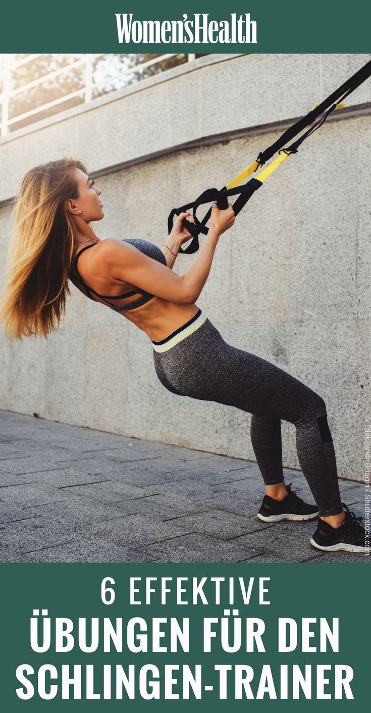 6 hocheffektive Übungen am Schlingentrainer