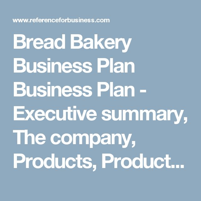 Starting a Bakery Business from Home With No Money – Sample Business Plan Template