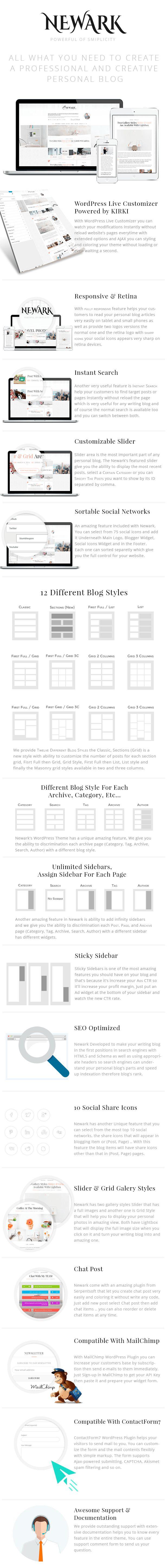 260 best Blog/Magazine WordPress Themes images on Pinterest ...