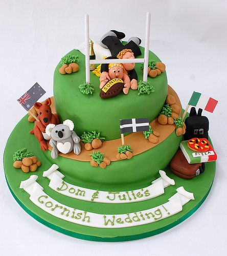 Cake Decorating Ideas Rugby : 17 Best ideas about Rugby Cake on Pinterest Football ...