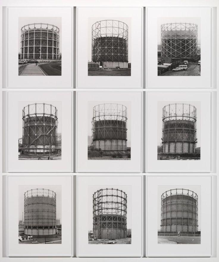 'Gas Tanks', Bernd Becher and Hilla Becher, 1965-2009 | Tate