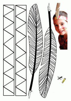 Kuş Tüyü Kalıbı. Feather printables.