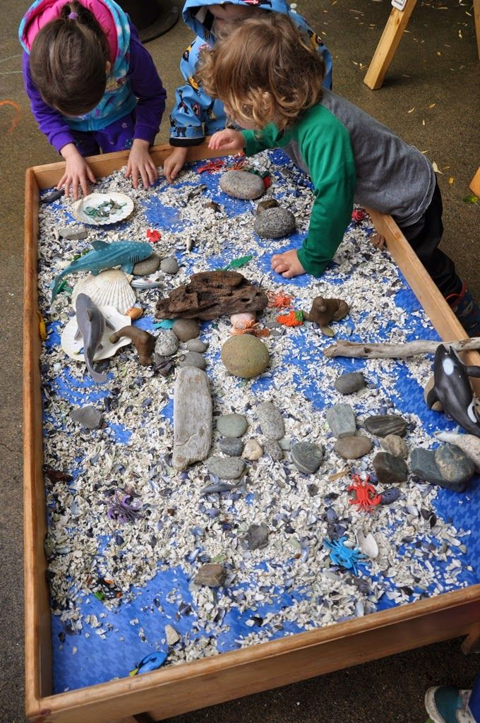 Large outdoor exploration table
