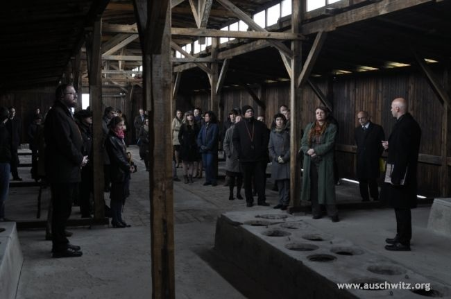 """On October 25 a three-year project entitled, """"The Conservation of Five Wooden Barracks at the Former Auschwitz II–Birkenau Concentration Camp"""" has come to an end. This was the first such a large and complex conservation project carried out by the Auschwitz-Birkenau State Museum which was financed from the founds of the EU."""