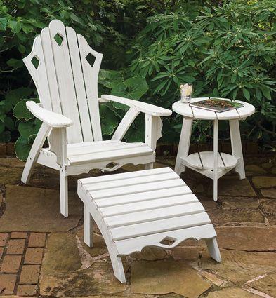 6142: Victorian Adirondack Garden Chair (Product Detail)