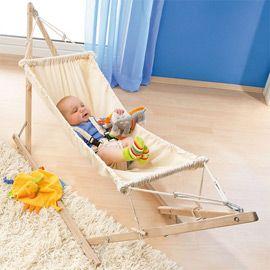 Dear future husband: start building our kids baby hammocks.