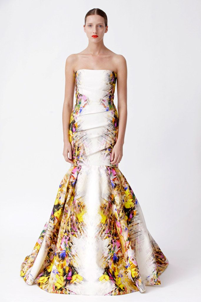 designer wear online sale Monique Lhuillier Resort 2013 Collection Photos   Vogue