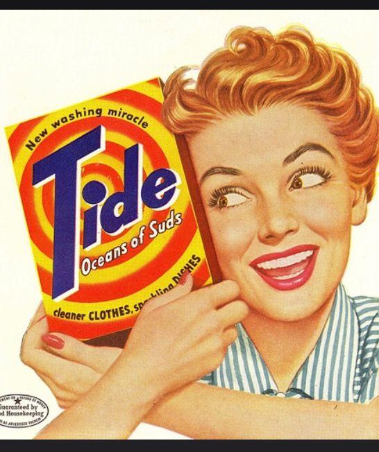 Tide,produit miracle!!! la lessive qu'utilisait ma mère ☺