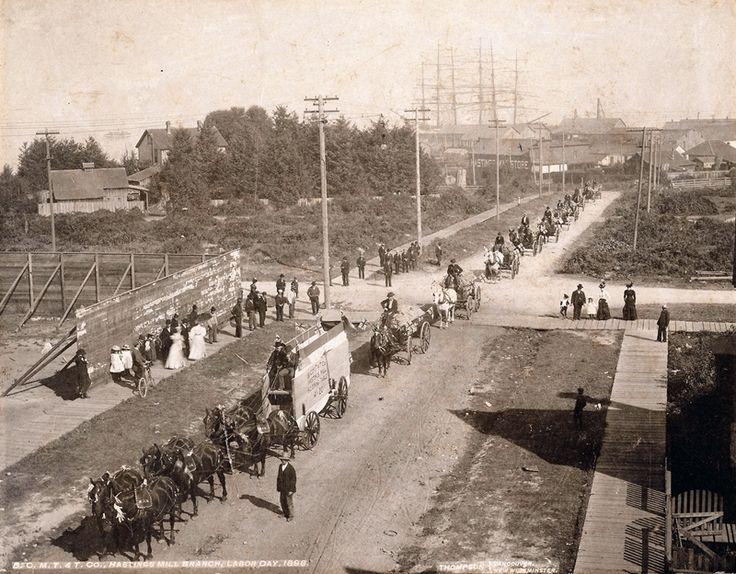 Labour Day parade, 1898