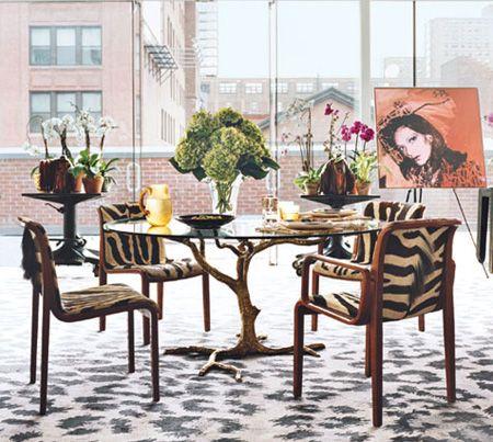 Diane Von Furstenberg's Manhattan Penthouse | from Architectural Digest | House & Home