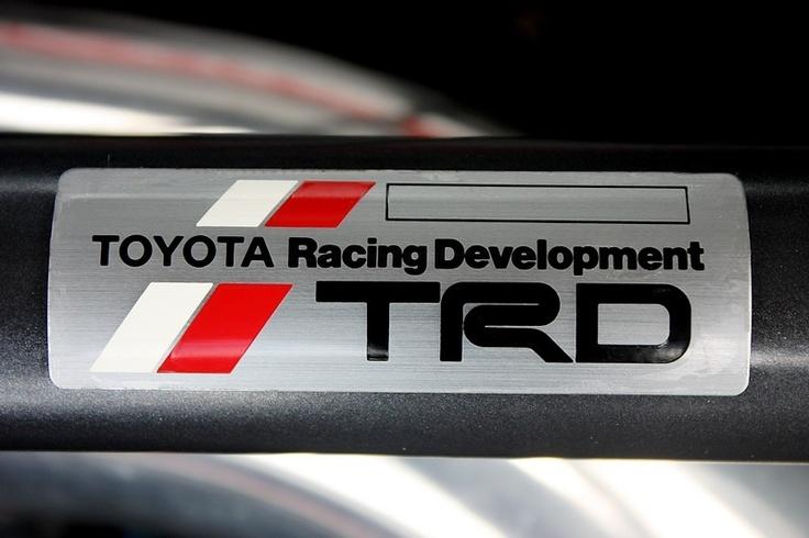 Toyota Racing Development badge (TRD) #toyota #racing #genuine #trd #badge