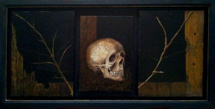 Memento Mori. Oil on canvas