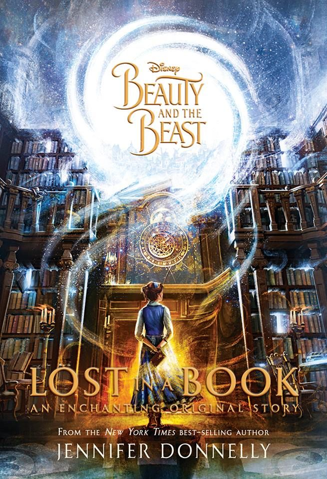 """Disney has just released the cover for my latest novel, Lost in a Book! I love it and am so excited to share it with you!   The story is an original addition to the beloved Beauty and the Beast fairytale. It follows the lonely, bookish Belle as she finds an enchanted book in the Beast's library called """"Nevermore"""" that carries her into a glittering new world. There, Belle is befriended by a mysterious countess who offers her the life she's always dreamed of.   But Nevermore is not what it…"""