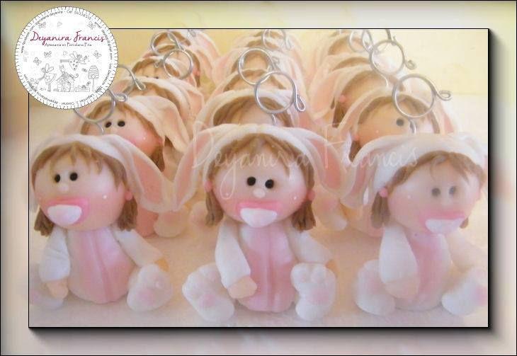#souvenirsporcelanafria - conejitas - #souvenirsbabyshower - Deyanira Francis