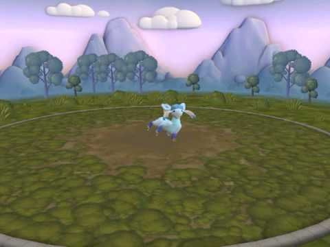 Spore Pokemon - Glaceon Awesome