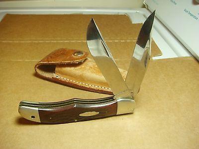 Vintage Case XX sabre folding hunter fish knife  2 blade 6265 5 1/4