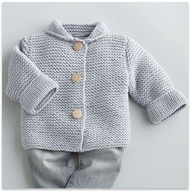 Modèle paletot CAPTURE layette