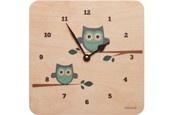 lulabird Owl clock for baby room.
