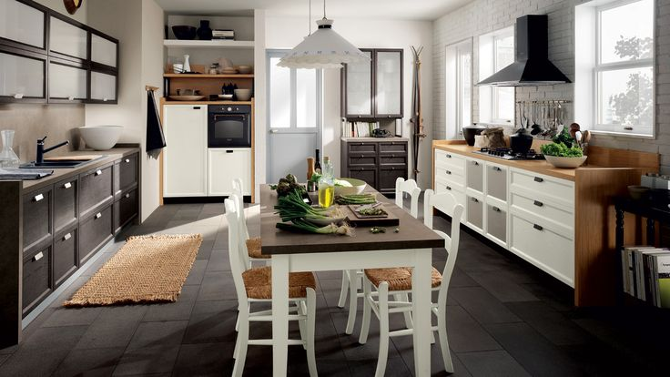 Atelier Kitchen - design by Vuesse. The new kitchen from scavolini basic gives you a free choice from a collection of unusual architectural details, flawless functional Features and ready-made solutions, to style what has now become the most open, vibrant room in the home exactly to your wishes.